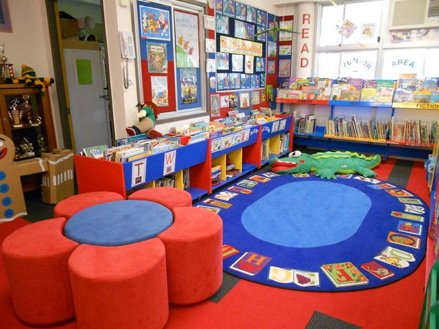 Walloon State School Library Qld. Furniture and Fit out supplied by Raeco Library Solutions. www.raeco.com.au