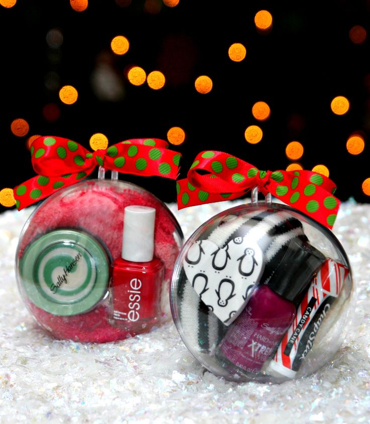 Ornaments filled with fun gifts
