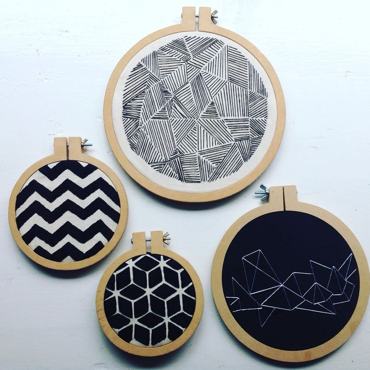Best geometric embroidery ideas on pinterest