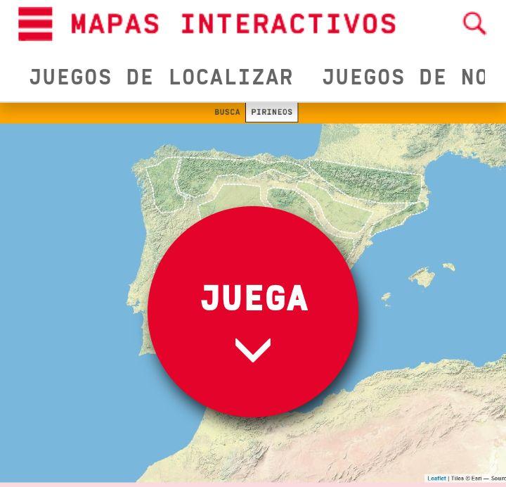 Os dejamos esta entrada con un juego interactivodeDidactalia.netpara localizar los sistemas montañosos de la Península Ibérica. © 2017.MochilaTic