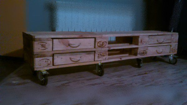 Furniture From Pallets In Poland