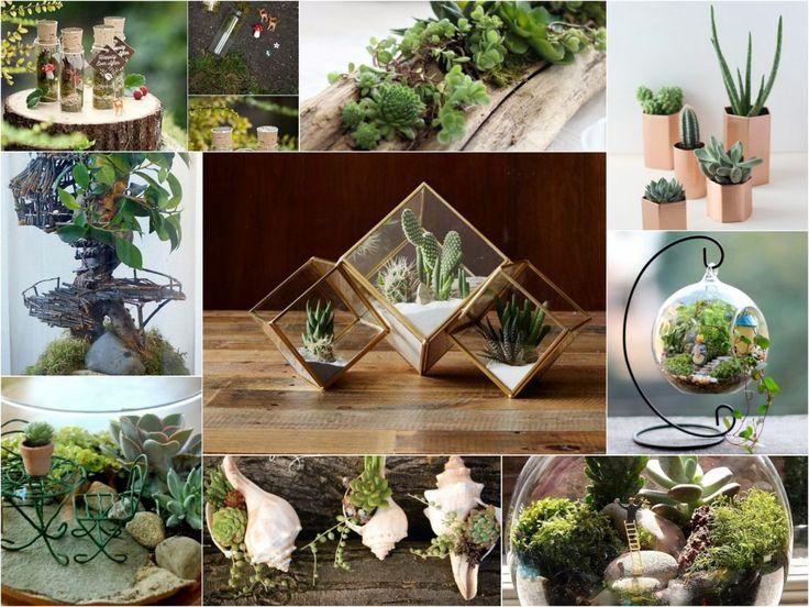 Minyatür bahçeler yani teraryum fikirleri, ev dekorasyonu için her zaman ilginç ve çok iyi bir seçim olmuştur. Serbest zamanınız varsa ve bunu nasıl değerlendireceğinizi bilemiyorsanız yaratıcı olun. Çünkü ilham kaynağınız burada! İç mekan veya dışı mekan dekorasyonları için küçük veya büyük, kaktüs veya hava bitkisi, küçük su bahçeleri veya büyük şelaleler, vahşi hayvanların gezdiği sarp …