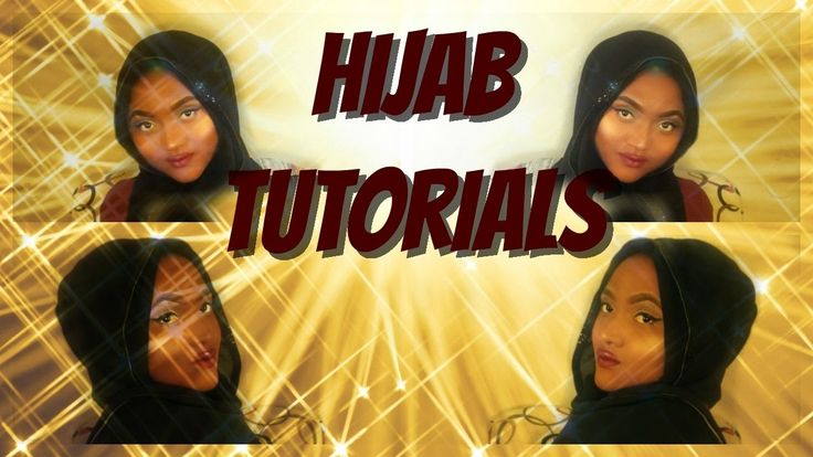 Hijab Tutorials!!!!!!!