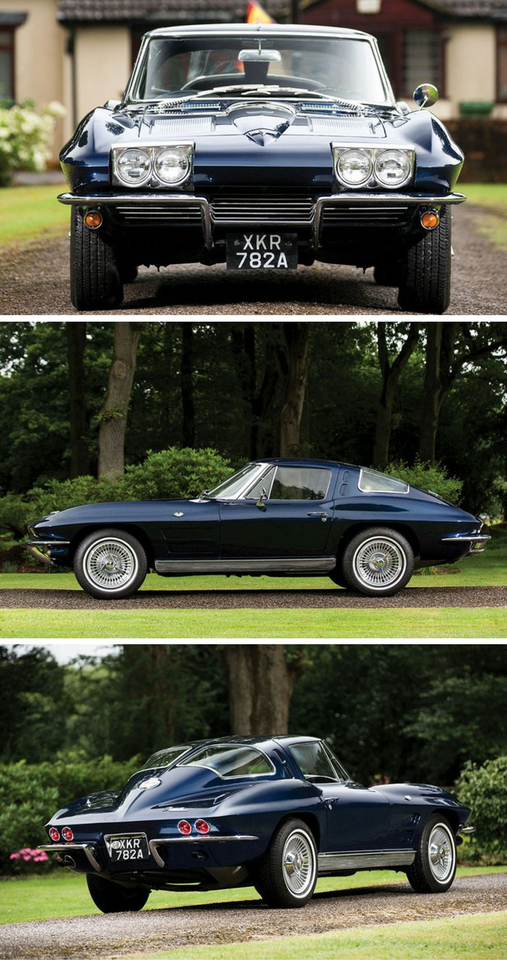 "1963 Chevrolet Corvette Stingray ""Split-Window"" Coupé to Be Auctioned at RM Sotheby's"