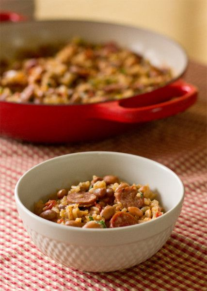 http://mjskitchen.com/2014/03/beans-rice-easy-one-pot-meal/