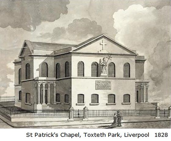 St Patrick's Church, Liverpool  liverpool-l8-toxteth-dingle-st-patricks-church-1828