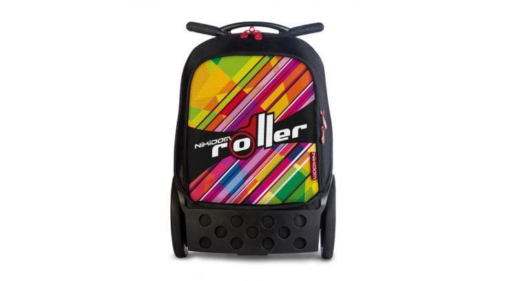 Nikidom Roller KALEIDO - húzható iskolatáska - ISKOLATÁSKÁK - Fejlesztő játékok az Okosodjvelünk webáruházban