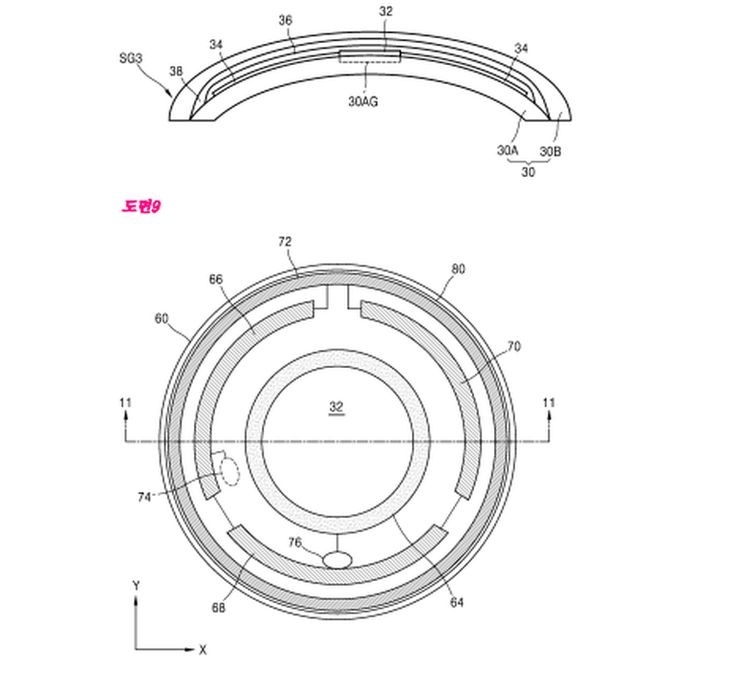 Samsung's smart contact lenses could pack a camera and