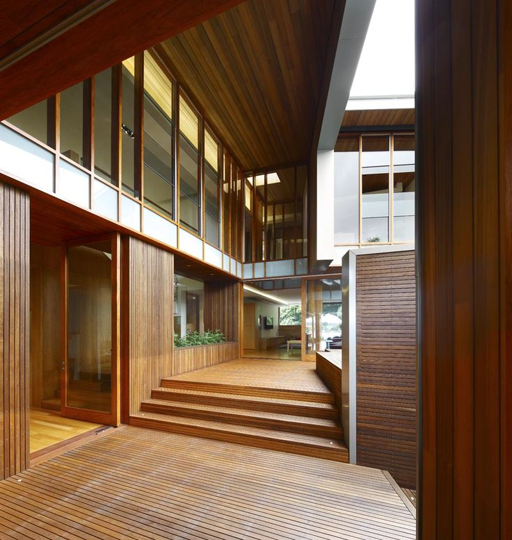 Arbour House in Brisbane by Richard Kirk Architect