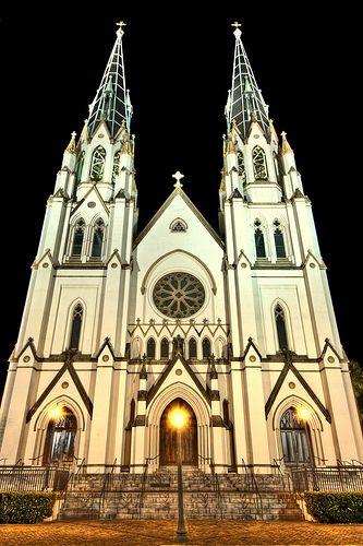 Savannah, GA: Cathedral,  Church Building, Glorious Church, Photo