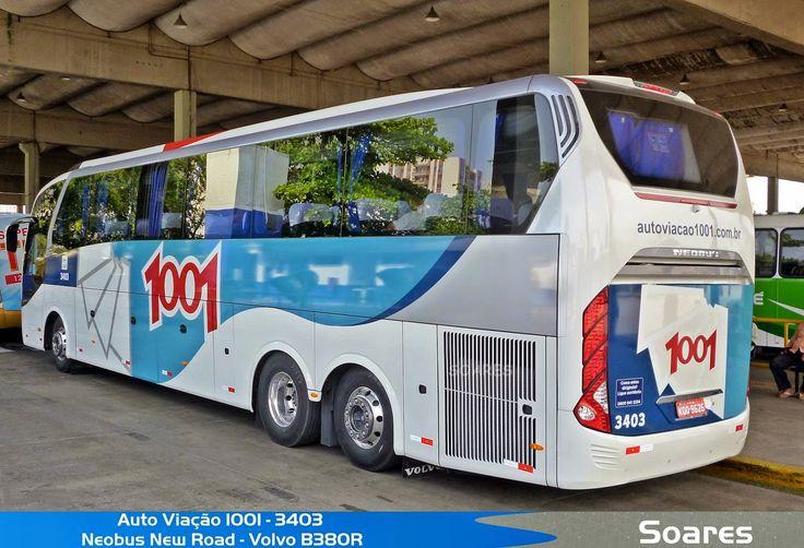 Ônibus Mania - Um Hobby Levado a Serio.: Auto Viação 1001 (RJ)
