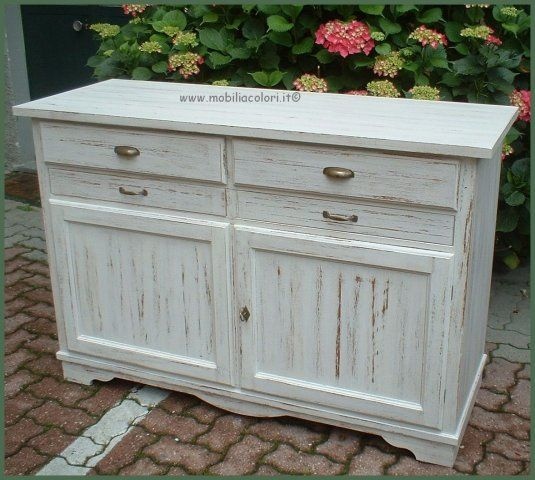 acquista credenza shabbychic credenze sala basse shabby pinterest credenza shabby and country. Black Bedroom Furniture Sets. Home Design Ideas