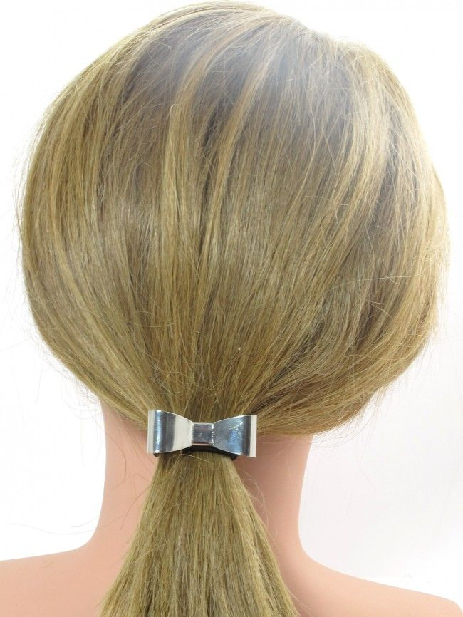 Look gorgeous with our bow hair elastic    #hair #hairclips #hairbands #headbands #bands #claws #bulldogclips #updos #styled #hairstyle #newdo