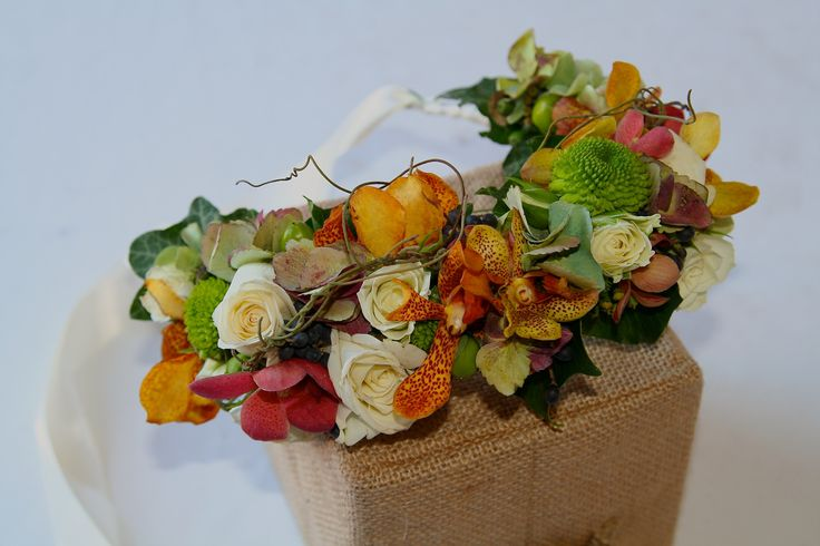 Beautiful floral headband