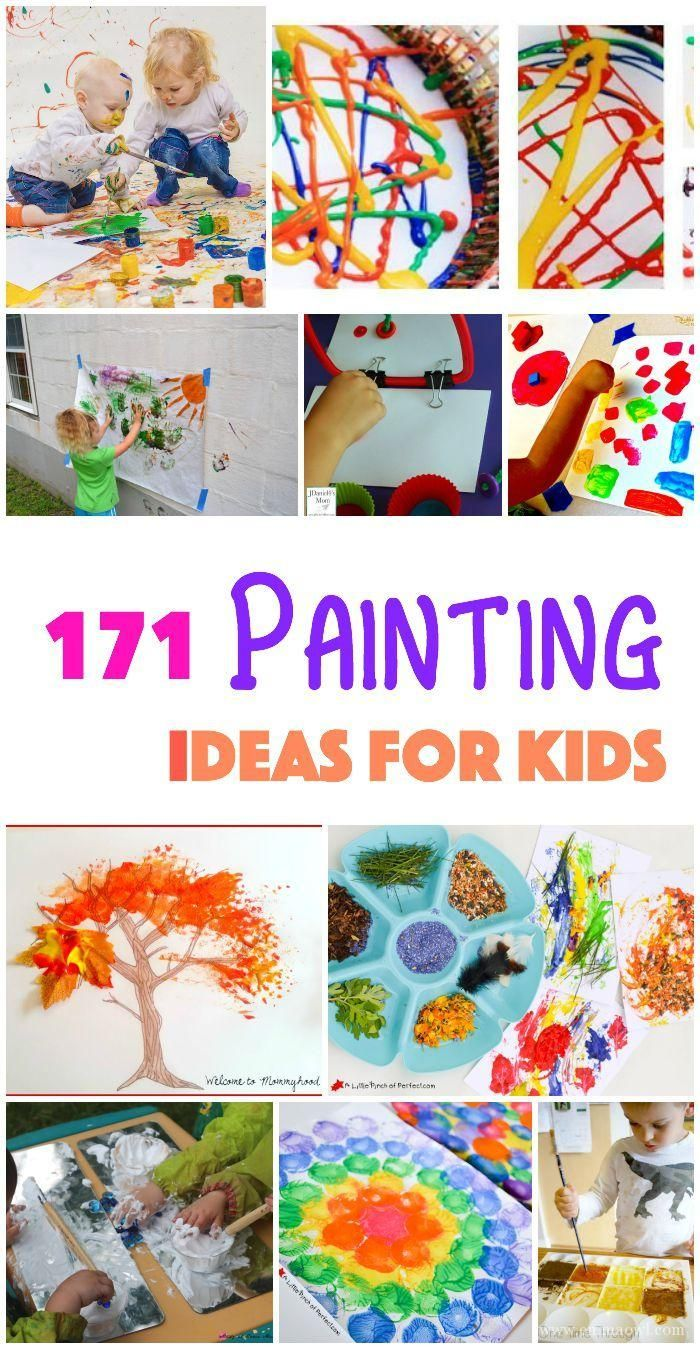 171 painting ideas for kids - Kids Paint Free