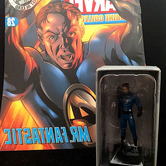 Classic Marvel Figurine Collection  28 Mr Fantastic by Eaglemoss Publications. It consists of a 20 page colour magazine  a h-painted Mr Fantastic lead. Classic Marvel Figurine Collection  004 The Thing Eaglemoss Publications. £13.99. Classic Marvel Figurine Collection  005 Magneto Eaglemoss Publications. #hero #comics #DCComics #DC #Marvel #figurines #Collectibles #gifts #collect