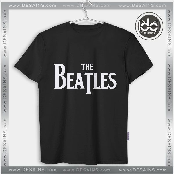 Buy Tshirt The Beatles Band Logo Tshirt mens Tshirt womens Tees Size S-3XL