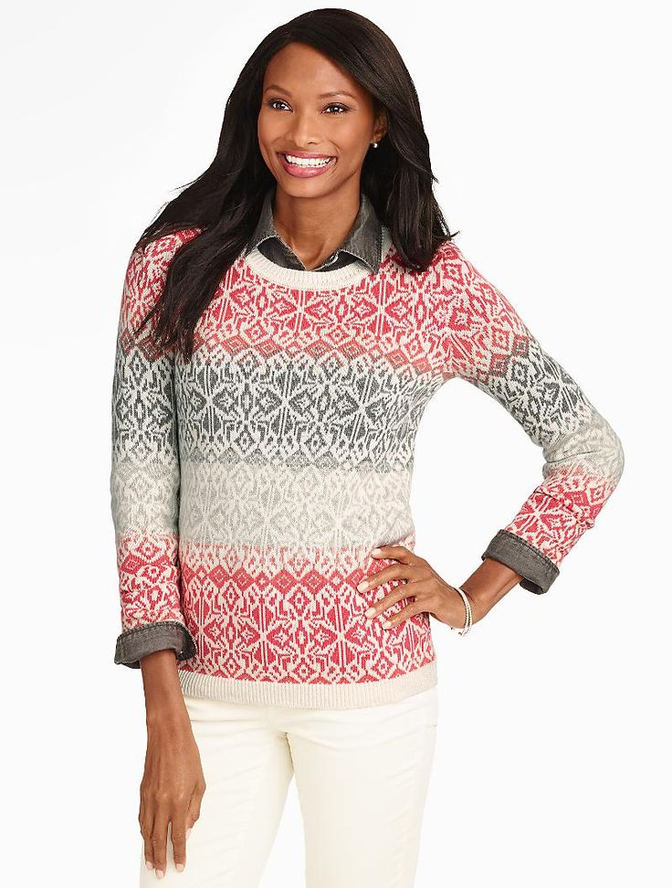 521 best Fair Isle ~ images on Pinterest | Knit patterns, Fair ...