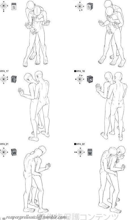 http://reapergrellsutcliff.tumblr.com/post/32894443282/mangaka-boy-love-pose-collection-love-scene-2