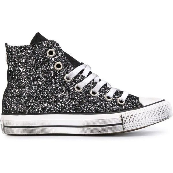 fcc391497991e converse-factory$29 on in 2019 | Converse | Glitter shoes, Black glitter  shoes, Cheap converse shoes
