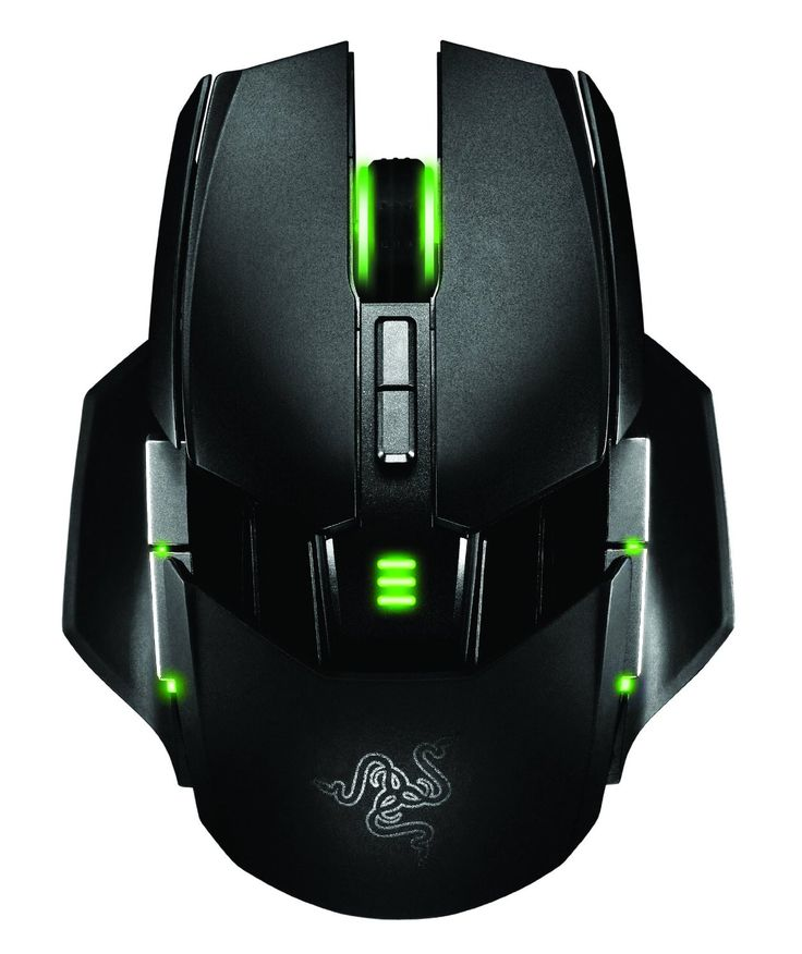 'Razer Ouroboros' Elite Ambidextrous PC Gaming Wired / Wireless Mouse RZ01-00770300-R331, 8200dpi, 11 Buttons