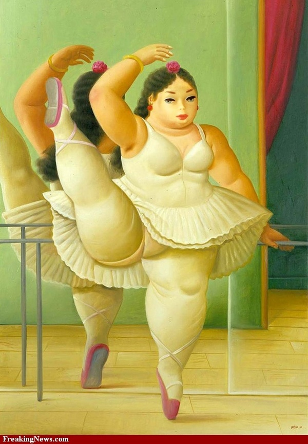 plus size ballerina