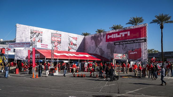 The Hilti World of Concrete 2017 booth was buzzing with excitement in Las Vegas. It's usually a hub of activity with plenty of concrete breakers going, lasers being knocked over to scare the random passerby, and concrete hole making all over the place. But there was more than just people trying out some of the best concrete tools in the business, there is big news to be share as well.  #Hilti #tools #concrete #WOC2017 #powertools #demolition #masonry #construction #remodeli