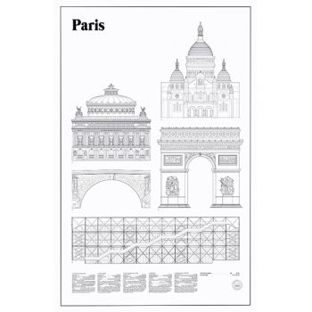 Studio Esinam's Paris Elevations poster