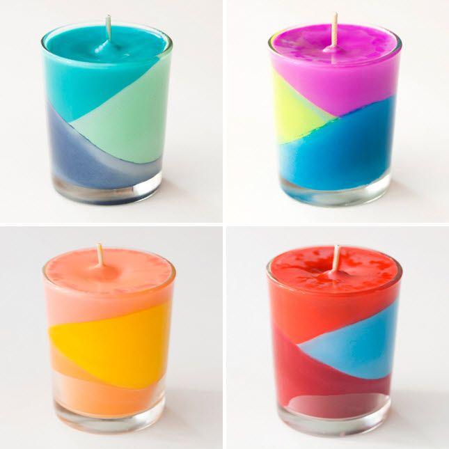 Fabriquer des bougies