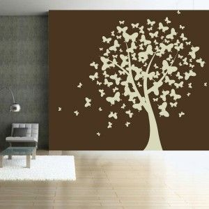 sticker nature l 39 arbre aux papillons chambre d 39 enfant pinterest produits et technologie. Black Bedroom Furniture Sets. Home Design Ideas