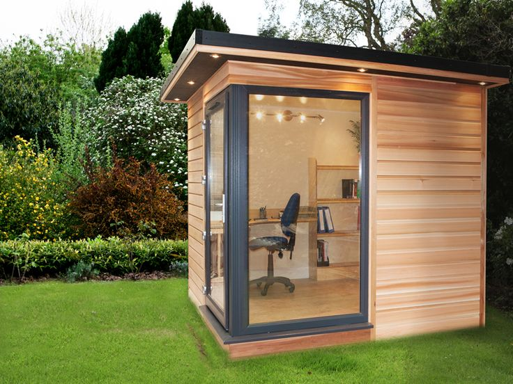 17 best images about small garden rooms on pinterest for Garden office design