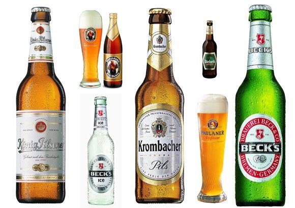 Das deutsche Bier Die 10 beliebtesten Biere sind: Beck´s ...