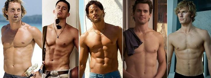 Sexy men from Magic Mike