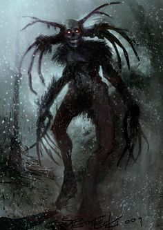 Image result for wendigo sightings
