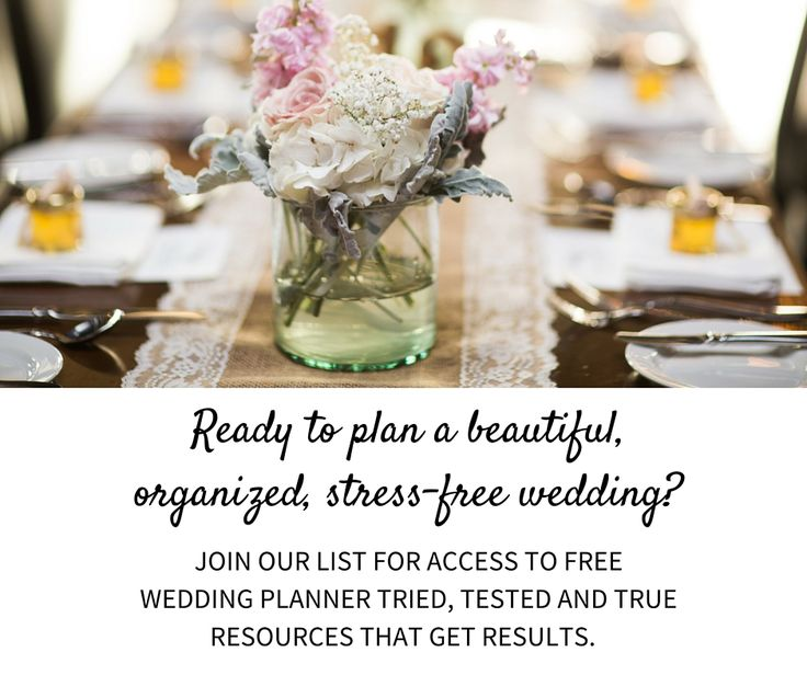 131 best Wedding Planning Tips images on Pinterest Marriage, Big - wedding plan