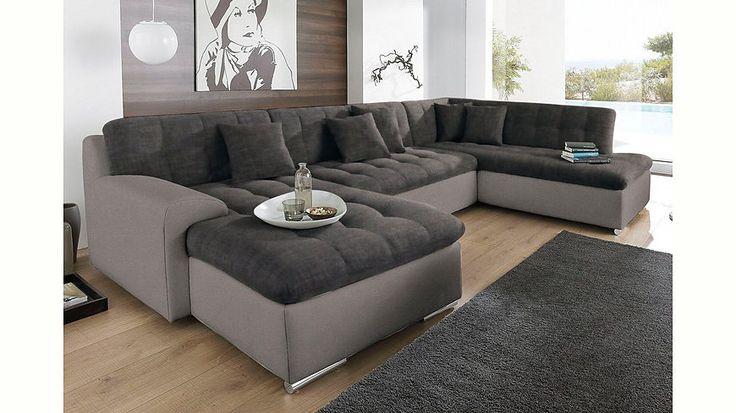 Jetzt Trendmanufaktur Wohnlandschaft, wahlweise mit Bettfunktion günstig im yourhome Online Shop bestellen
