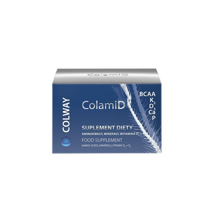 CollamiD  OPIS PRODUKTU  ColamiD – to unikalny w skali światowej naturalny kompleks aminokwasowo-mineralno-witaminowy. Dostarcza ustrojowi wysoce biodostępnych minerałów, makro i mikro elementów. Zawiera m.in. doskonale przyswajalny wapń i fosfor o najwyższej jakości. Ludy Północy od niepamiętnych czasów nie wyrzucały ości zjadanych ryb. Dokładnie je mieliły  i dodawały do jedzenia. Na Syberii czyni się tak po dziś dzień. Sproszkowane ości ryb, przede wszystkim rzecznych, podobnie jak w…