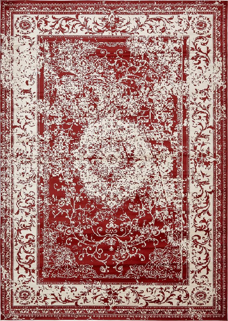 Burgundy 305x427cm Courtyard Rug Area Rugs Irugs Uk