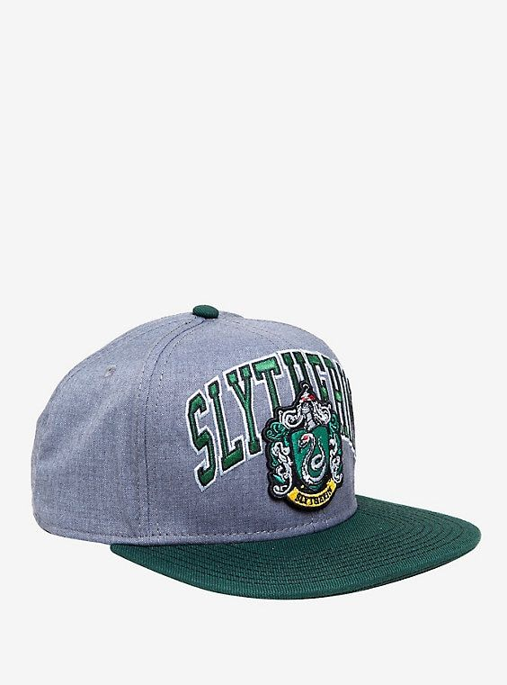 8ab839dd44d Harry Potter Slytherin Collegiate Snapback Hat
