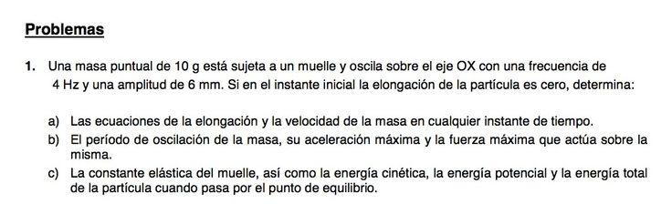 Ejercicio de Movimiento Ondulatorio propuesto en el examen PAU de Canarias de 2008-2009, Setiembre, Opción A.