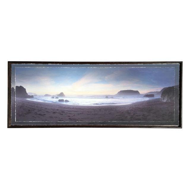 Image of Ocean Panoramic in Handmade Frame