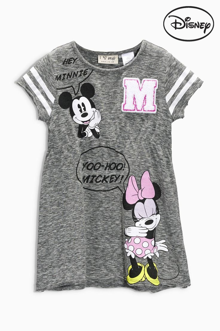 Buy Grey Minnie Mouse™ Dress (3mths-6yrs) from the Next UK online shop