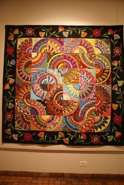Author unknown, from Springfield Museum of Arts quilt show, photo by Tweetle Dee Design Co.