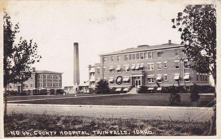 RP: County Hospital , TWIN FALLS , Idaho , 1900-10s
