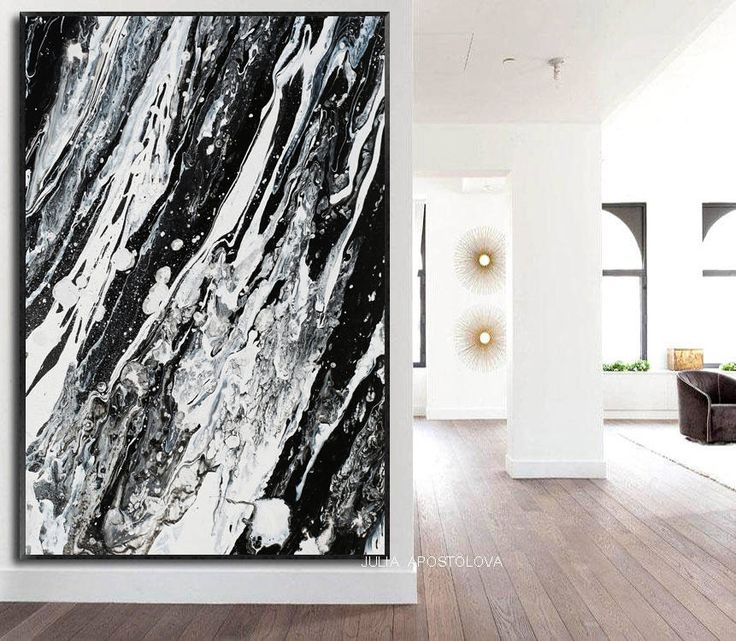 #White #Black #Abstract #Painting #Large #Canvas #Art #Modern #BlackandWhite #Watercolour #AbstractPainting, #AbstractPrint, #LargeWallArt, #CanvasArt #Metalic  #AbstractCanvas, #BlackArt #WhiteArt #Print, #Rustic #Modern #Decor by #JuliaApostolova on #Etsy #homedecor #coastaldecor #blackandwhite #canvasprint #interior #bedroom #designer #interiordesigner #decor #interiordesign #minimal #modern #contemporary #blackwhite