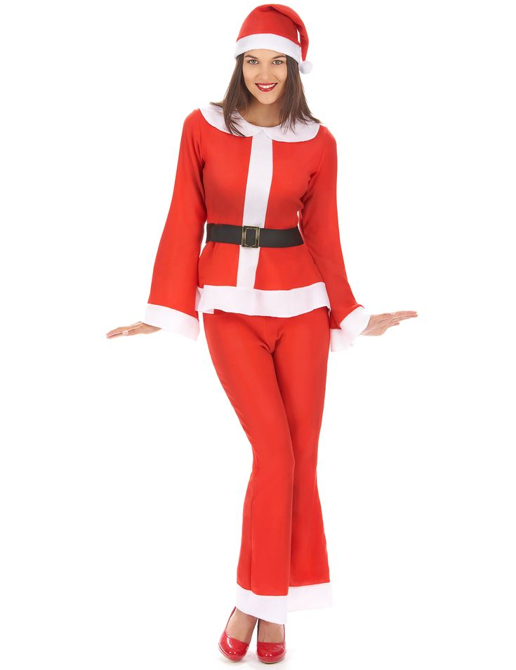 Mother Christmas costume women