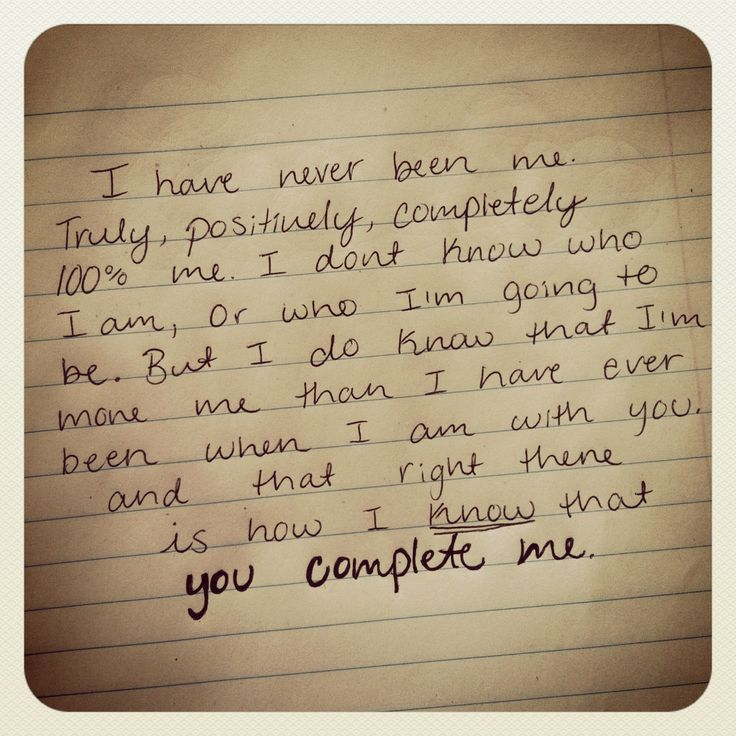 you complete me quote cute pinterest love you i