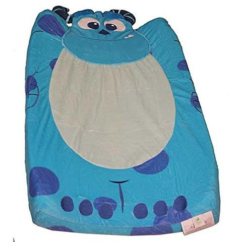 Kids Line Monsters INC. Velour Infant Boys Changing Pad Cover | BHFO