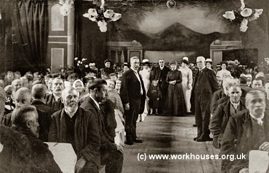 Burnley workhouse inmates, c.1909.
