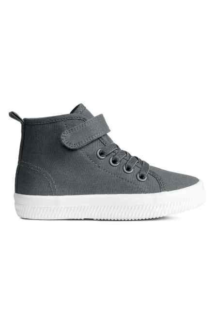 Katoenen canvas sneakers